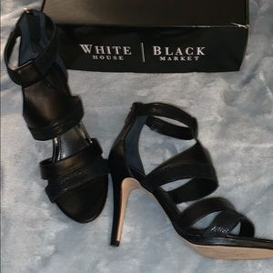 White House black market black heels